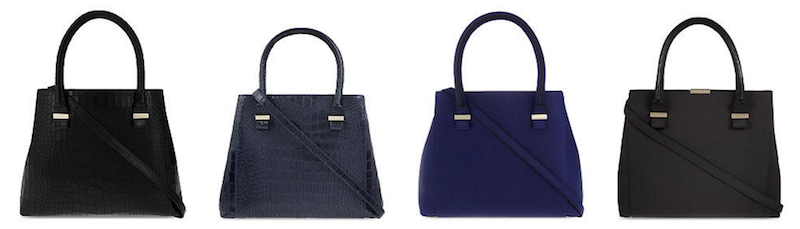 Victoria Beckham Quincy bag in different colours
