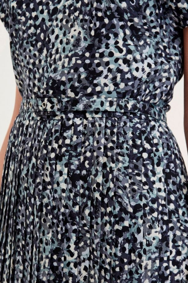 Great Plains Cezanne dress - the blue and black print