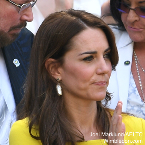 Kate Middletons earrings