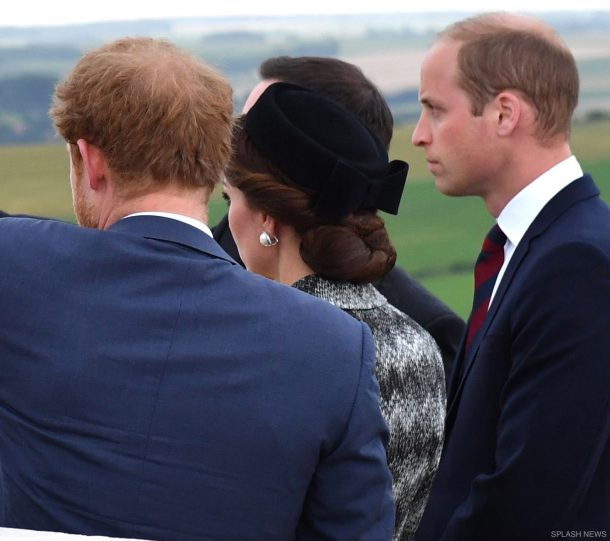 Kate Middleton's hair and hat at the Battle of the Somme commemorations