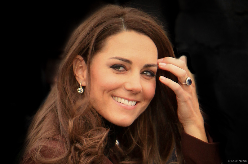 Kate Middleton wearing Kiki McDonough earrings in Liverpool