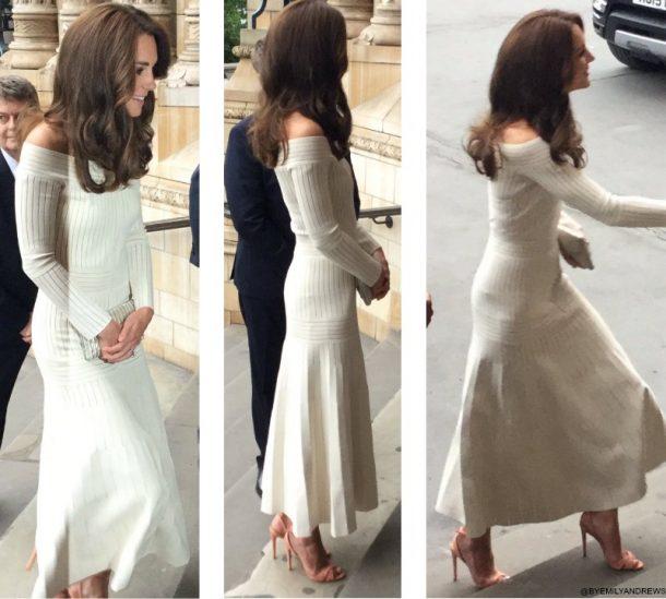 Kate Middleton wearing the Schutz Dollie Sandals