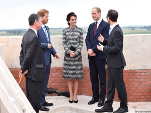 Kate wears grey Missoni coat for Somme commemorations in France