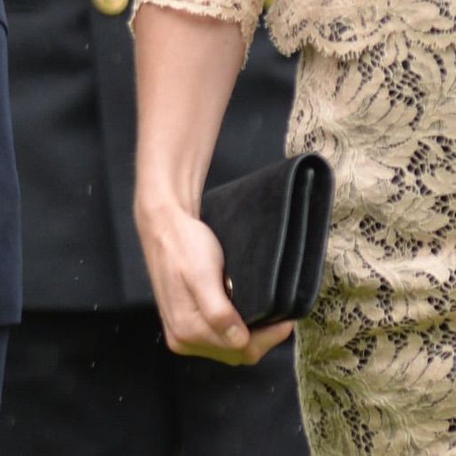 Kate Middleton carrying her Mulberry Bayswater clutch at the Somme Centenary commemorations