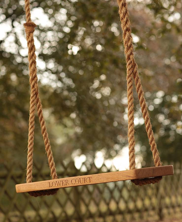 Personalised swing