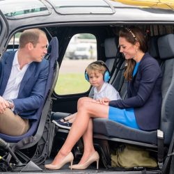 William, Kate & George attend a private engagement at an SAS base + more updates