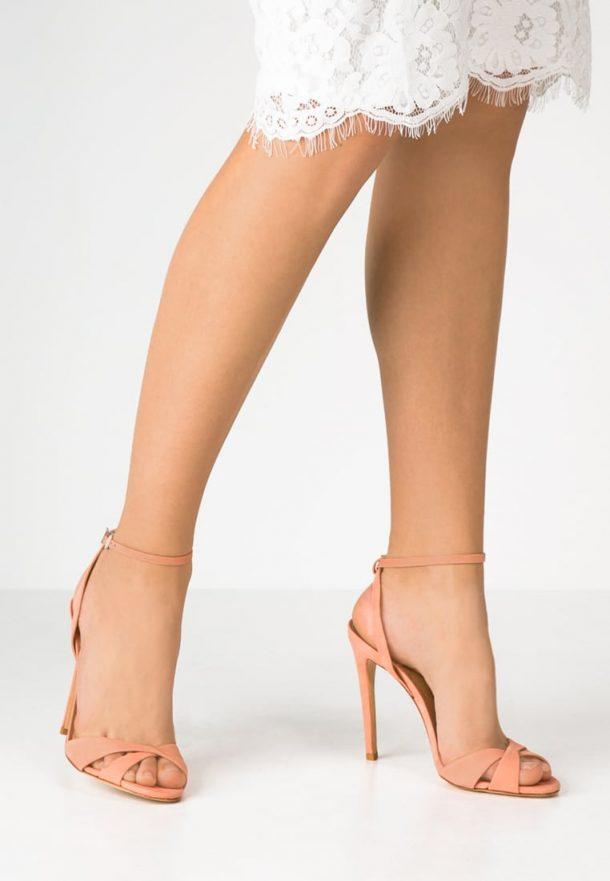 Schutz Dollie Sandals in Clay