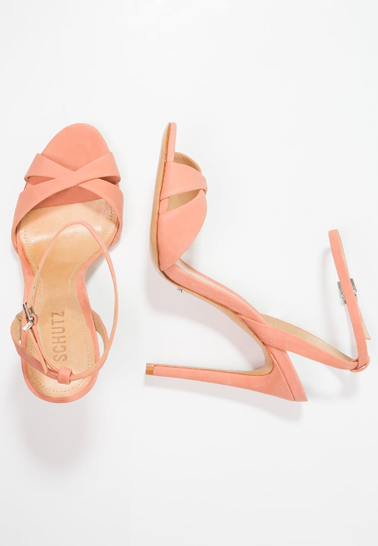 Schutz Dollie Sandals in Clay