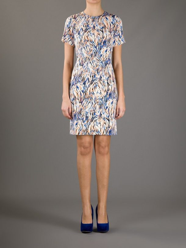 Stella McCartney Ridley Dress in an abstract print