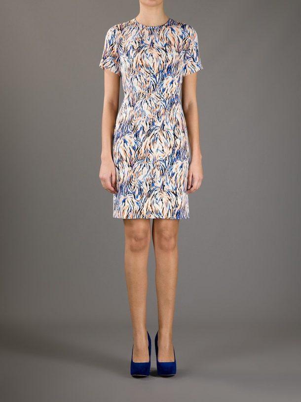 Stella McCartney Ridley Dress in an abstract print