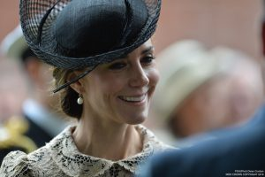 Kate wears lace dress to Somme Centenary service at the Thiepval Memorial in France