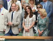 Kate Middleton at Wimbledon 2016