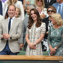 William and Kate watch Andy Murray win the men's finals at Wimbledon