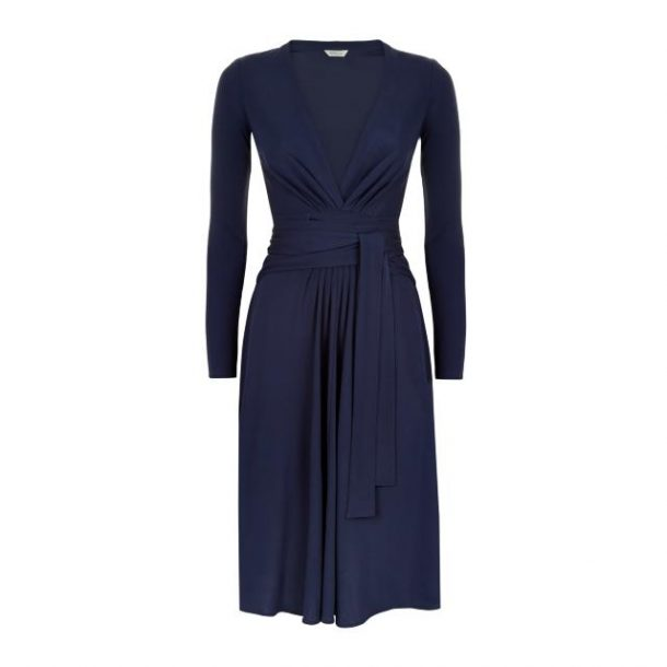 Daniella Helayel Gisele dress in navy at Monsoon