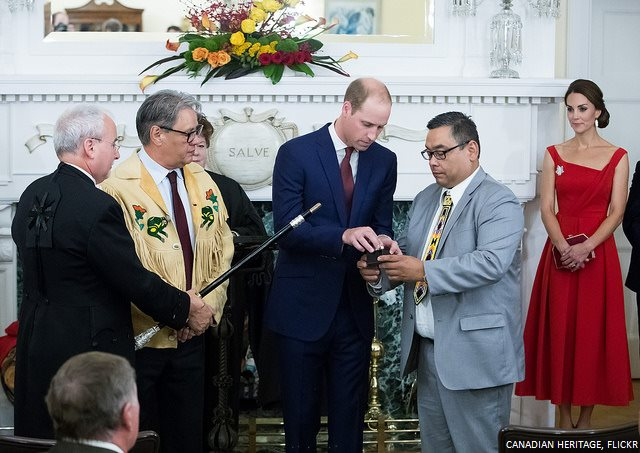 Prince William Black Rod Ceremony