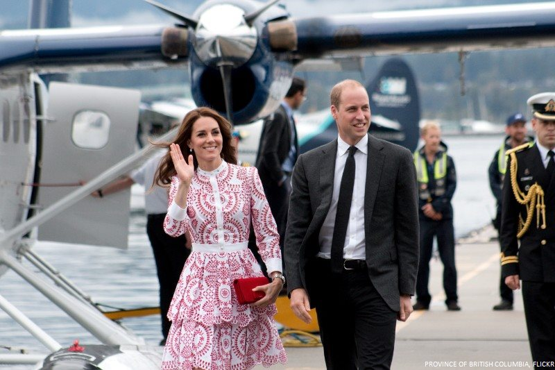 William, Kate and the Sea Plane