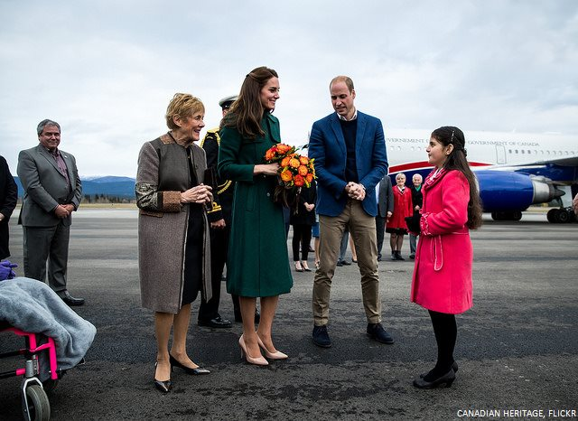 Kate Middleton in Yukon
