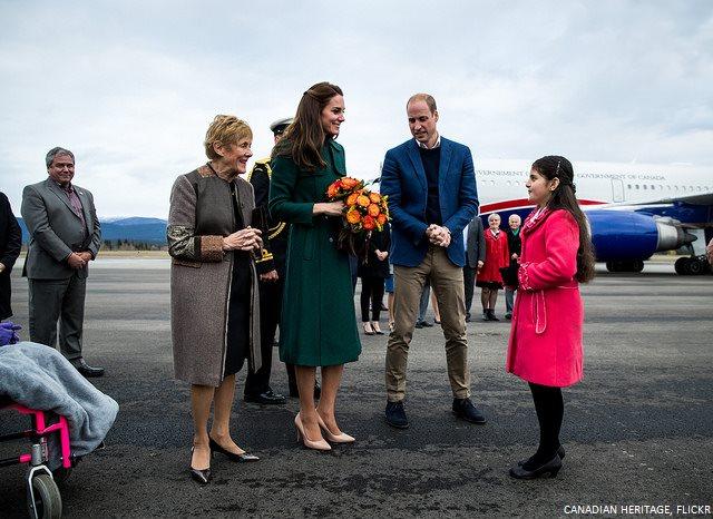 Kate Middleton in Yukon