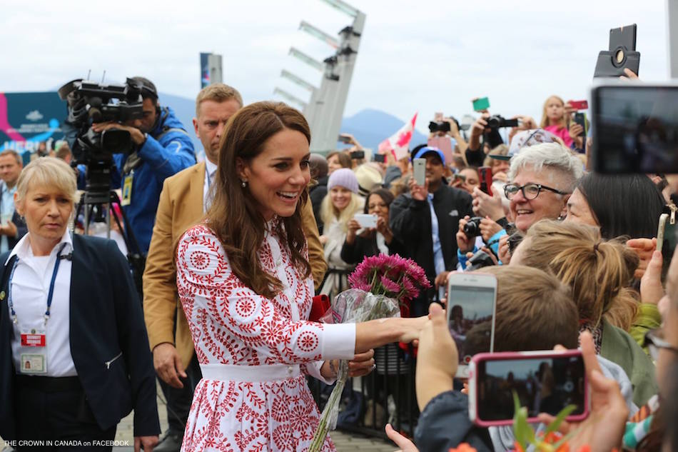 William and Kate met with locals in Vancouver