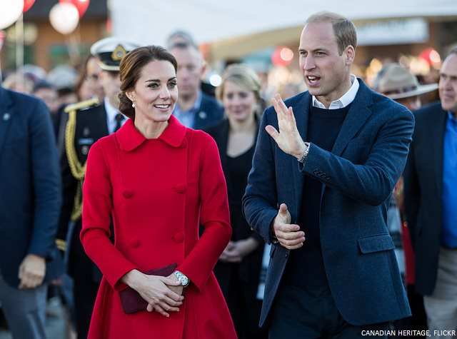 William and Kate in Yukon, Canada