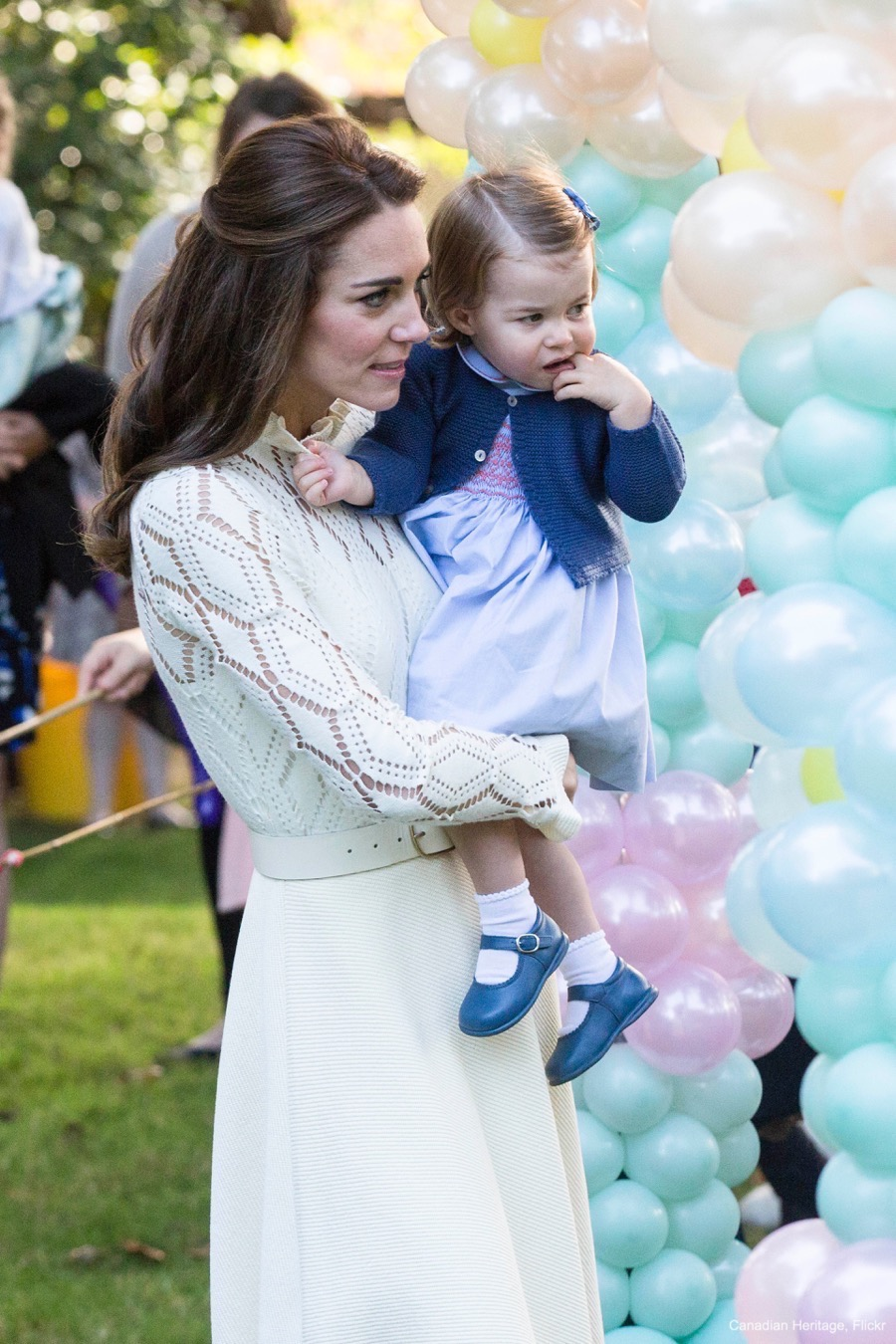 William, Kate, Charlotte and George attend a Children's Garden Party in Canada