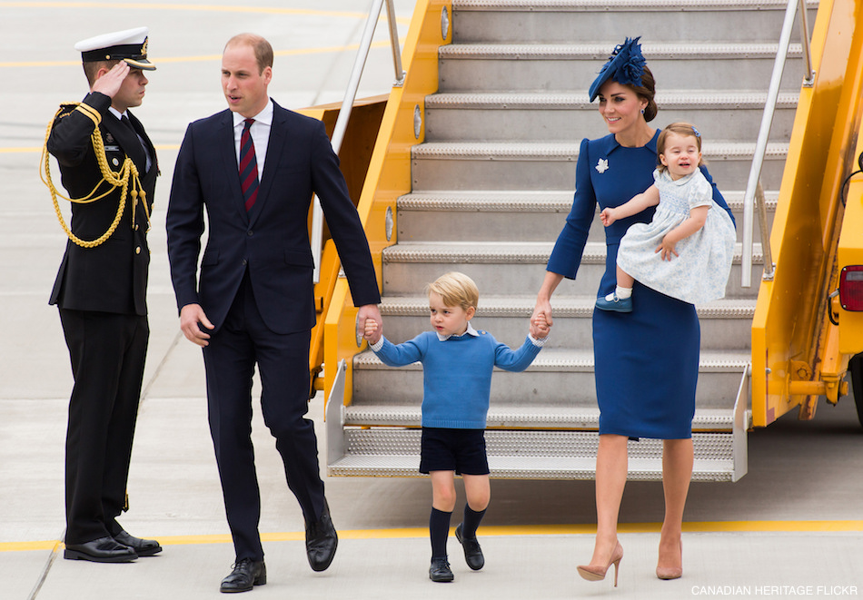 Kate Middleton's outfit in Victoria during the 2016 Canada tour
