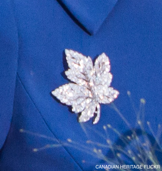 Canada Maple Leaf Brooch