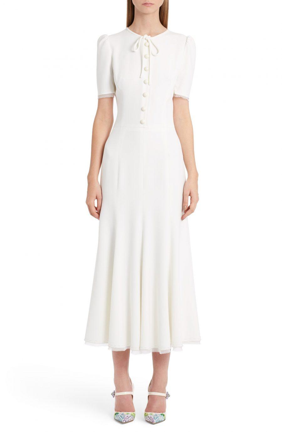 D&G dress in white