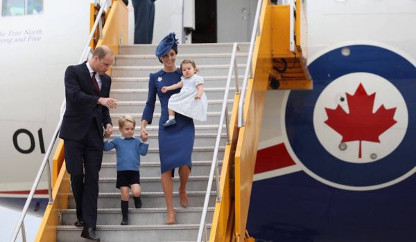William, Kate, George and Charlotte land in Victoria for day one of the 2016 Canada Tour