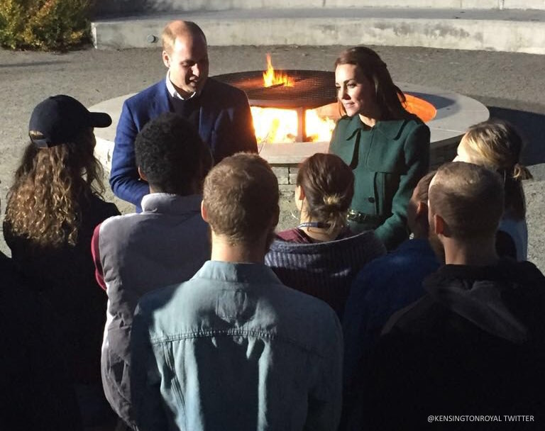 William and Kate in Whitehorse, Yukon