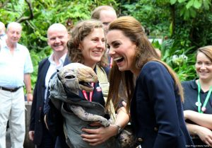 Kate wears GAP trousers for last minute Eden Project visit & Isles of Scilly tour