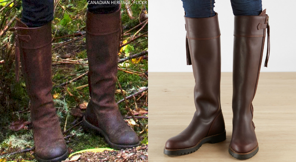 Kate Middleton wore her Penelope Chilvers boots in Bella Bella Great Bear Rainforest