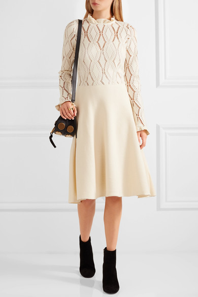 Kate Middleton Creme See by Chloe Dress
