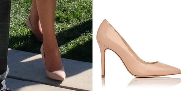 Kate Middleton's nude shoes in Canada