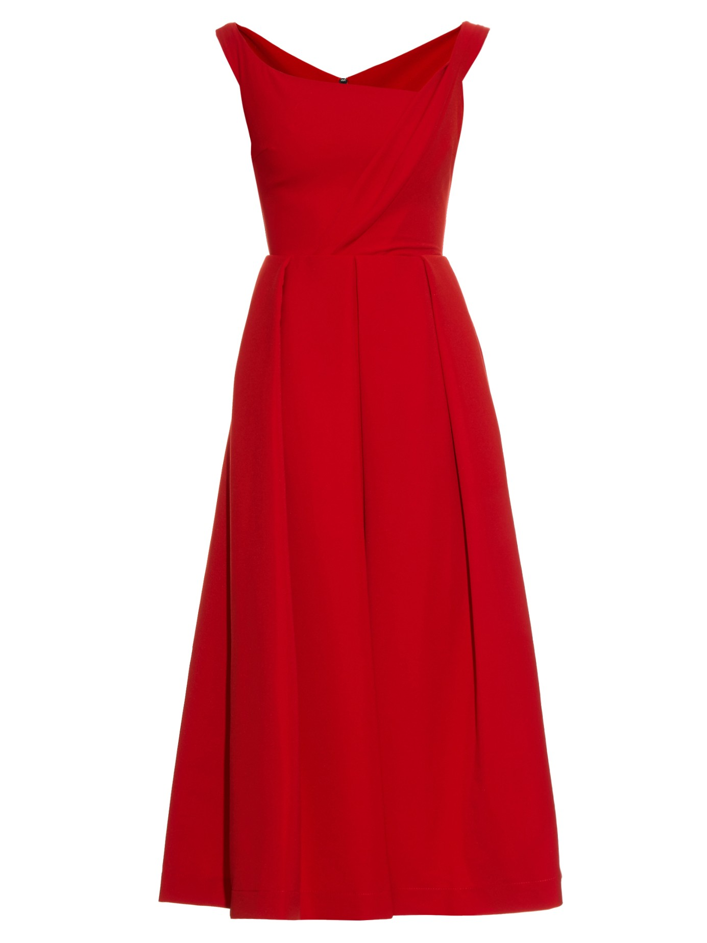 Red Preen dress