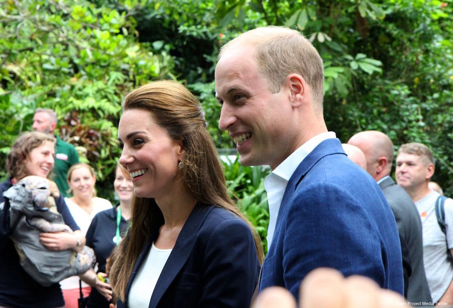 Kate Middleton at the Eden Project