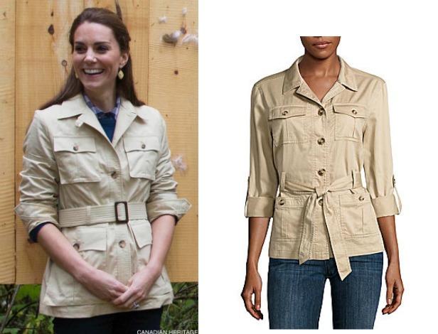 Beige Safari jacket copy
