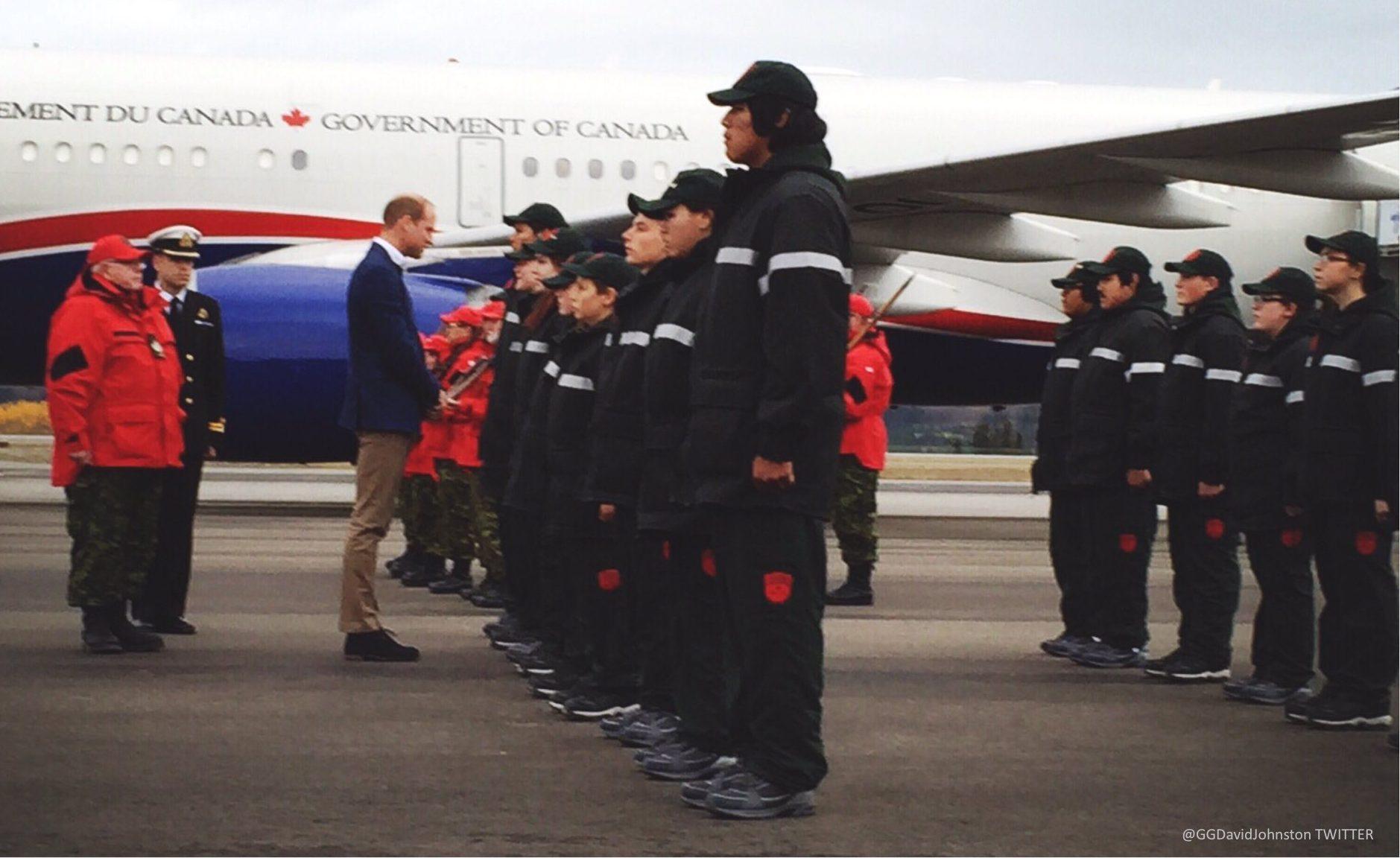Canadian Rangers Guard of Honour