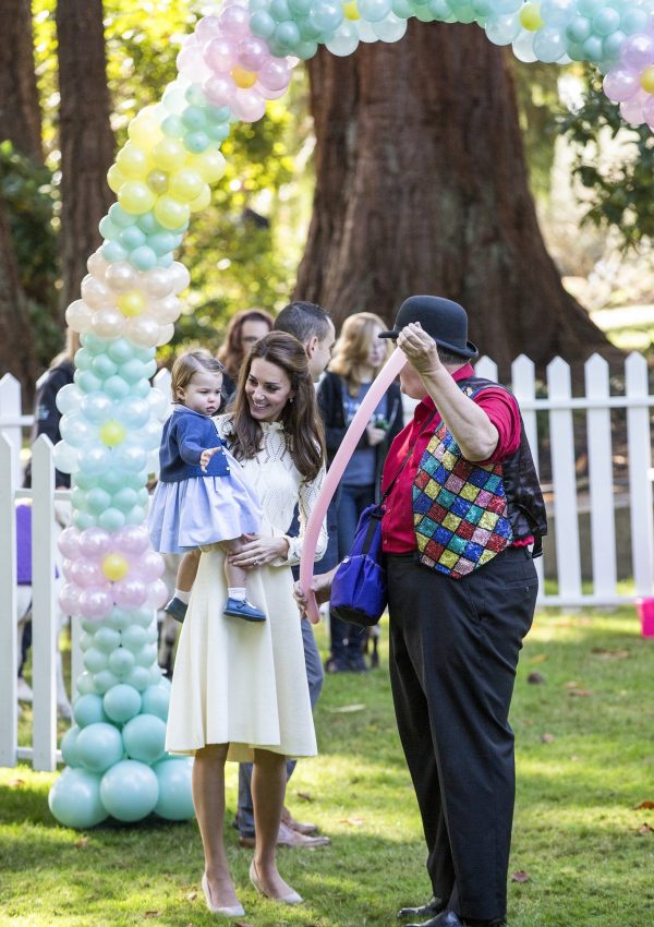 Will, Kate, George & Charlotte attend a Children's Party at Government House in Victoria, Canada