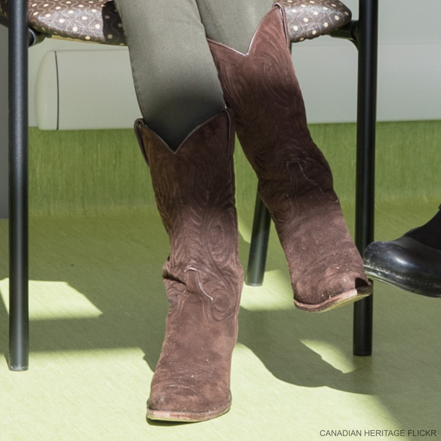 Kate Middleton's boots in Haida Gwaii