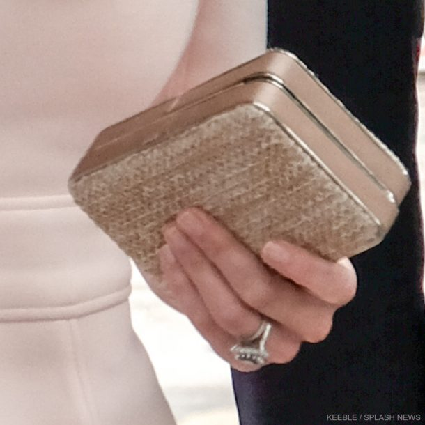 Kate Middleton's clutch bag in Cornwall