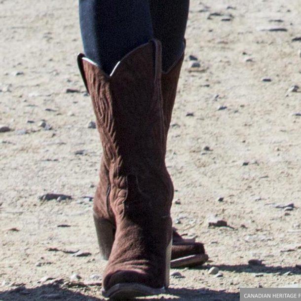 Kate Middleton's Cowboy boots in Yukon
