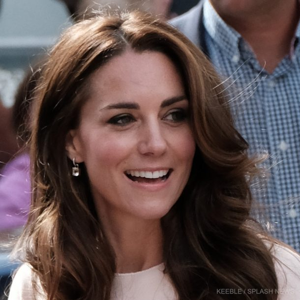 Kate Middleton's pink cushion drop earrings