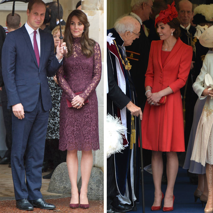 Kate Middleton wearing Gianvito Rossi