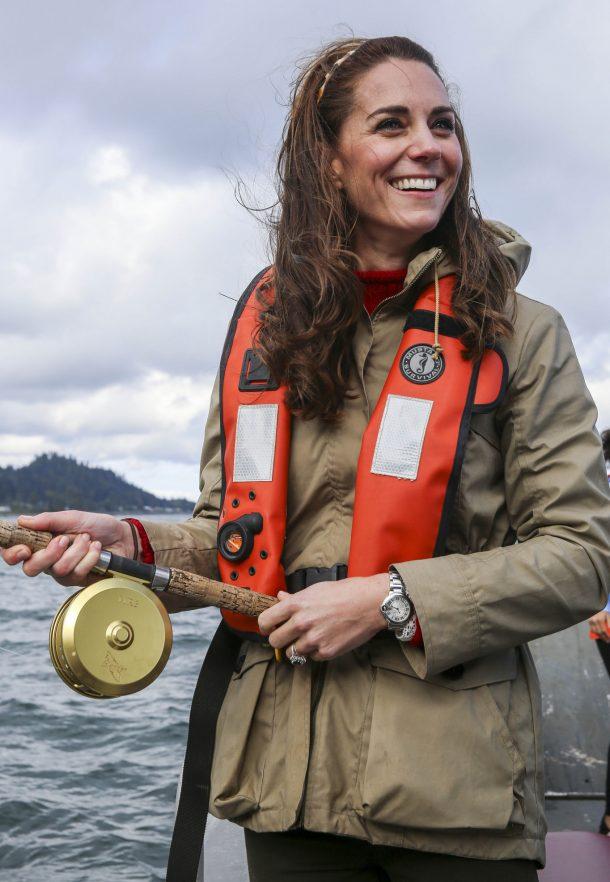 Kate Middleton visiting Haida Gwaii