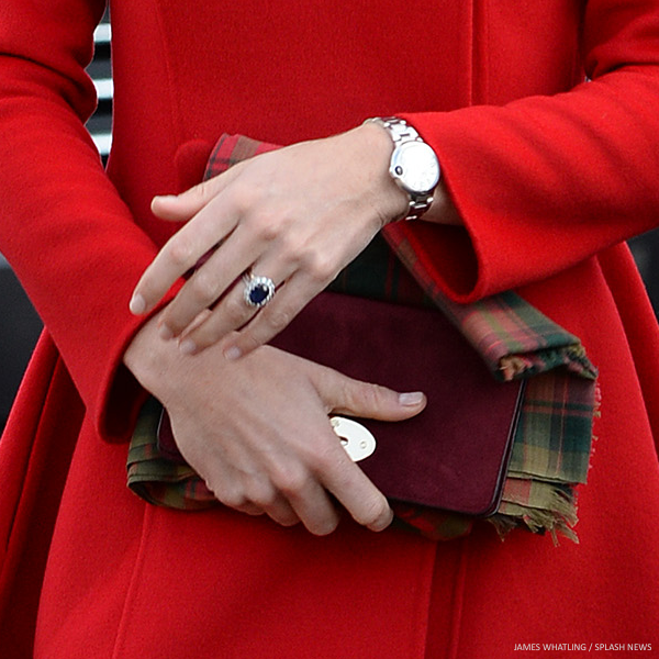 Kate Middleton carrying the Mulberry bag in Yukon