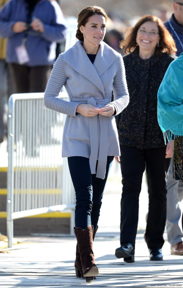 Kate Middleton's outfit in Yukon