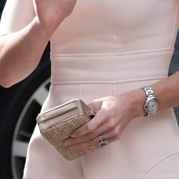 Kate Middleton engagement ring and watch in Cornwall