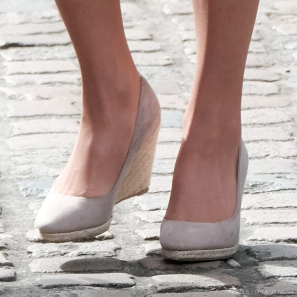 Kate Middleton's wedges in Cornwall