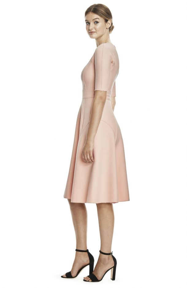Lela Rose Dress from the Side